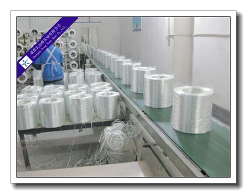 glass fiber producing line
